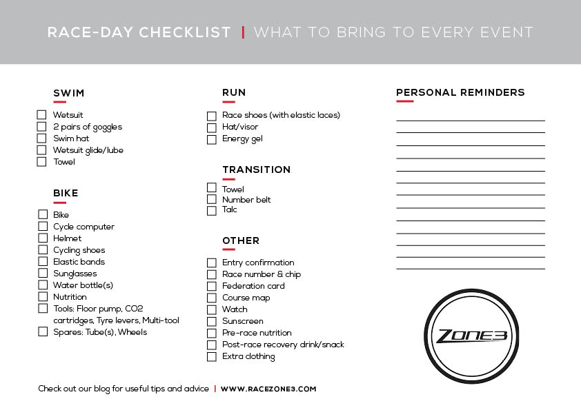 Zone3 Athlete Tom Ward S Race Day Top Tips Zone3